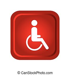 disable person in wheelchair