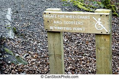 disabled adgang, tegn