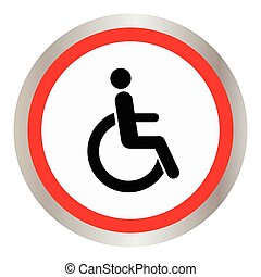 disabled icon sign