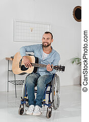 disabled musician