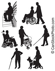 disabled, person