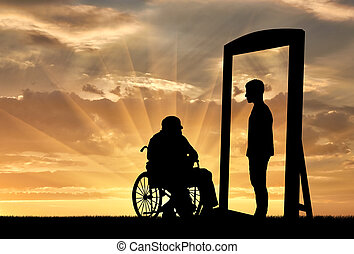 disabled rehabilitation concept