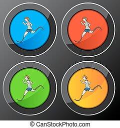Disabled Runner Button