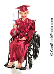 Disabled Senior Graduates College