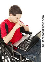 Disabled Teen Boy Online