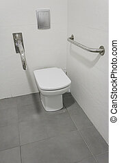 Disabled toilet adapters, sink and construction