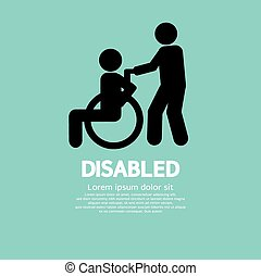 disabled.