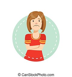 Disagreement Emotion Body Language Illustration