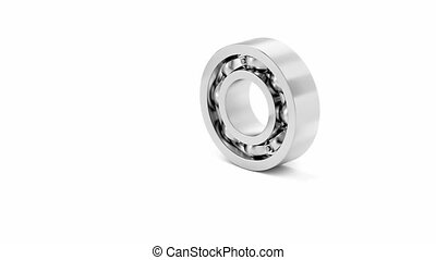 Disassembly of ball bearing