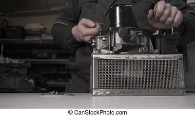 Disassembly of the automatic transmission DSG7 and...