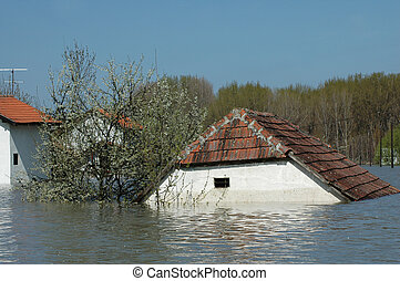disaster due to flooding