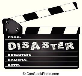 Disaster Movie Clapperboard