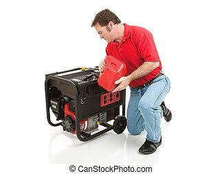 Disaster Preparedness - Filling Generator