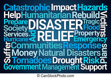 Disaster Relief Word Cloud