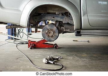 disc break in maintenance process