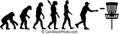 Disc golf evolution
