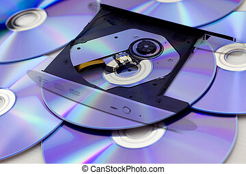 DVD or CD player