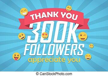disciples, 300k, emoticon., illustration, vecteur, fond, vous, félicitation, remercier