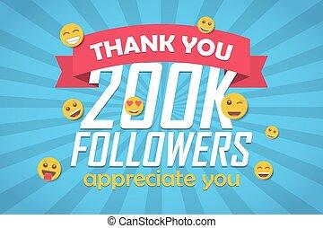 disciples, emoticon., 200k, illustration, vecteur, fond, vous, félicitation, remercier