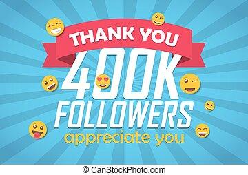 disciples, emoticon., illustration, vecteur, fond, vous, félicitation, remercier, 400k
