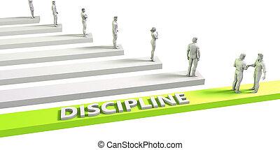 Discipline Mindset for a Successful Business Concept