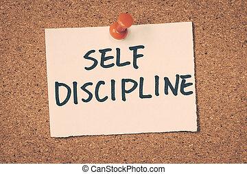 discipline, soi