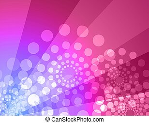 Disco background - illustration of disco atmosphere...