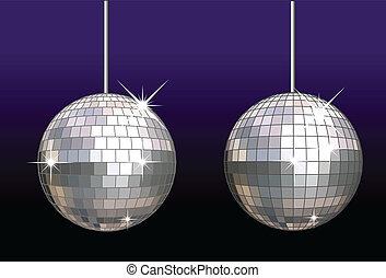 disco-ball, セット