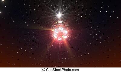 Disco Ball Background - Disco ball seamless looping video