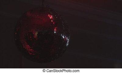 disco ball close up