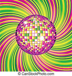 disco-ball, disegno
