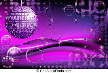 disco-ball, hintergrund
