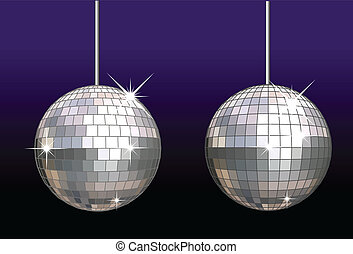 disco-ball set Available EPS-8 vector format separated by...