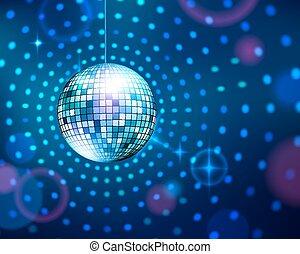 disco, ball.