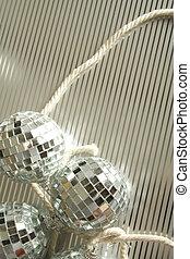 Disco balls decor