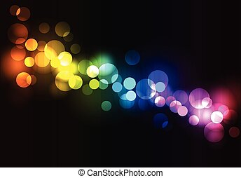 Abstract glowing disco background. Vector illustration eps 10