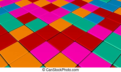 Disco Dance Floor. Abstract background