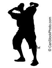 Disco dancer nine - Hip-hop artists of dance on stage on ...