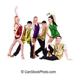 Disco dancer team