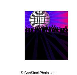 disco, danse