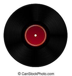 disco del vinilo