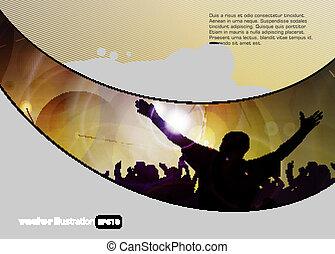 disco, gebeurtenis, achtergrond