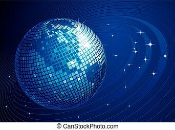 Disco globe