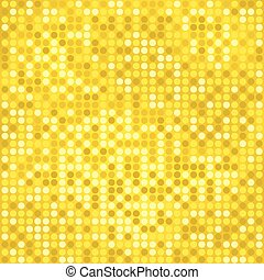 disco gold background