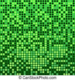 disco green background