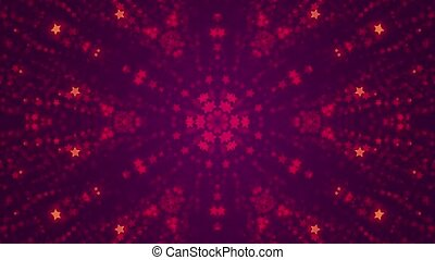 disco kaleidoscopes background with animated glowing neon...