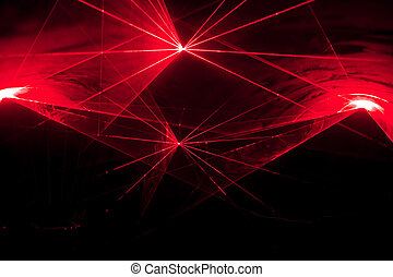 disco, laser, exposición
