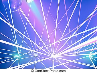 disco, laser, fond, exposition