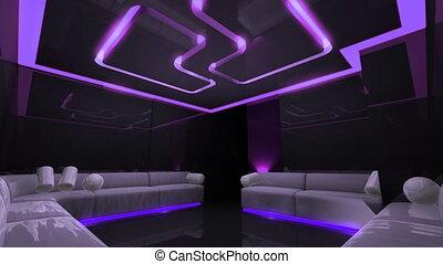 disco led light and flare