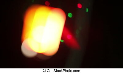 Disco Light in bokeh